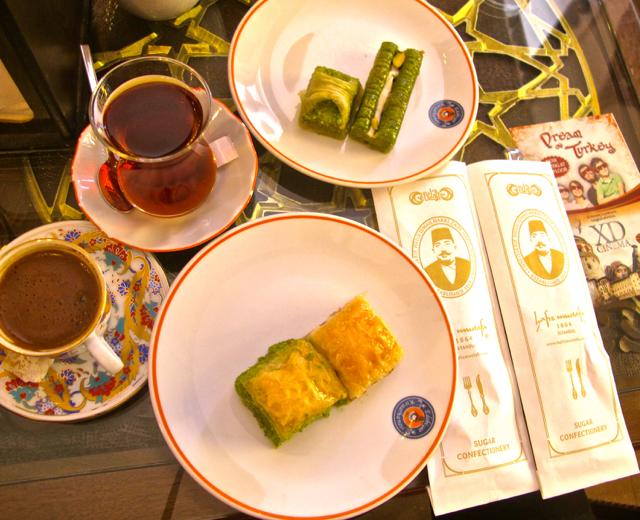 Gotta keep it light. Right. Baklava is still my favourite Turkish sweet snack.