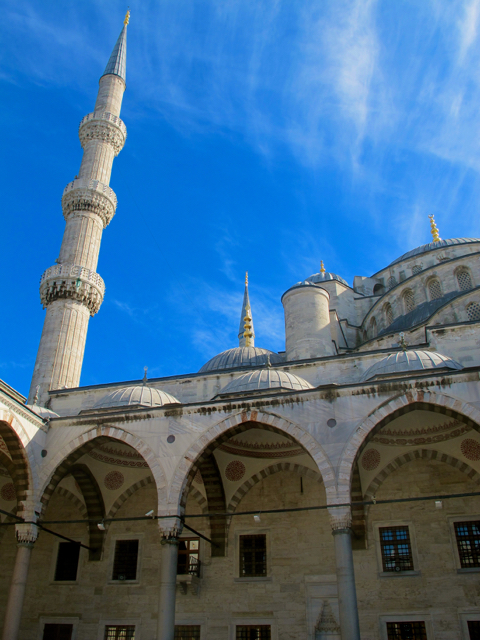 just the Blue Mosque