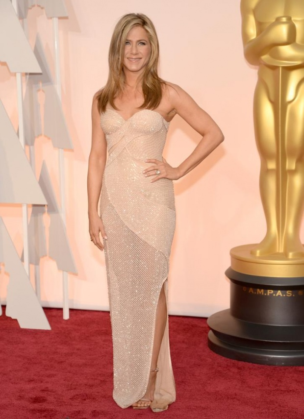 Jennifer Aniston. Well, she looks good, obviously. But, I just can't Can't my eyes off of her. And she would deserve that.
