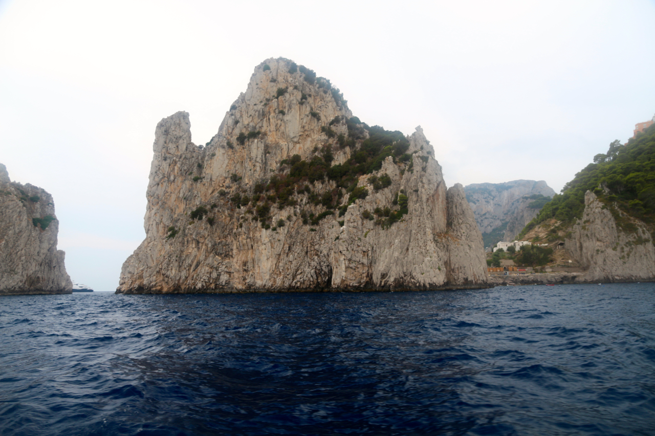 This rock is THE rock of Capri.