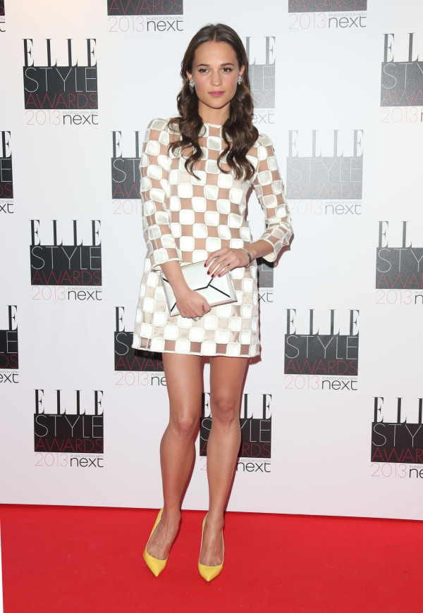 The Elle Style Awards 2013 held at the Savoy - Arrivals London, England - 11.02.13 Featuring: Alicia Vikander Where: London, United Kingdom When: 11 Feb 2013 Credit: Lia Toby/WENN.com